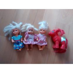 Pack muñecas pequeñas