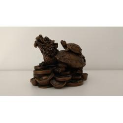 Tortuga cabeza de dragón · Simbología Feng Shui