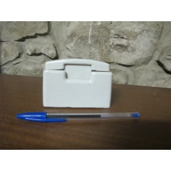 Antiguo fusible de porcelana pequeño